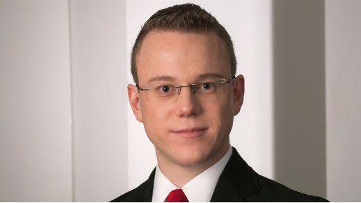 Dominik Fürste ist CIO bei der TX Logistik AG.