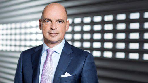 Frank Jourdan, Mitglied des Vorstands der Continental AG und Leiter der Division Chassis & Safety