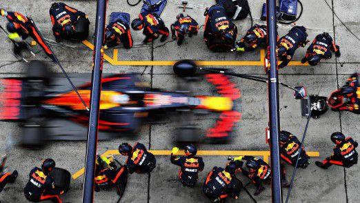 Red Bull Racing will zurück an die Spitze der Formel 1 - mit Speed und IoT.