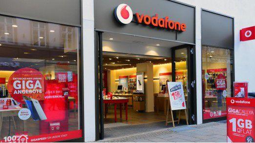 Vodafone diskutiert intern eine Reduzierung der Beschäftigungskosten.