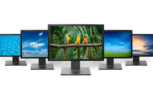 HDTV TV Flat screen: Die Entwicklung bei Fernsehern ist unübersehbar.