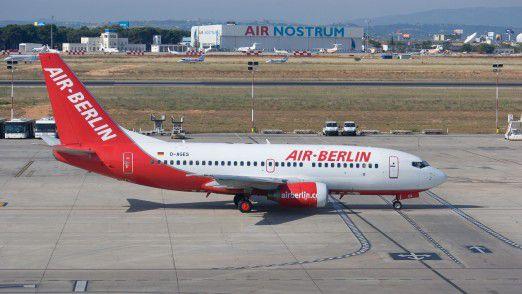 Am Donnerstag soll sich der Flugbetrieb Air Berlin zufolge normalisieren.