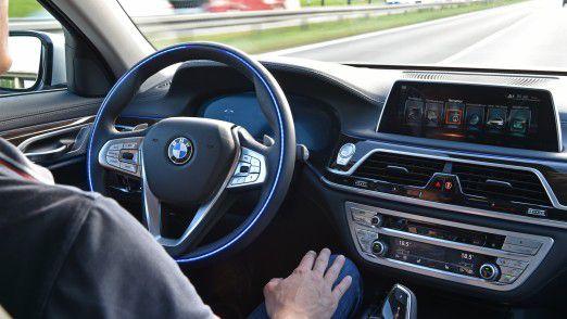 Autonomes Fahren bei BMW.