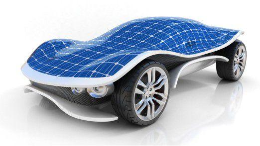 Solarauto-Konzept