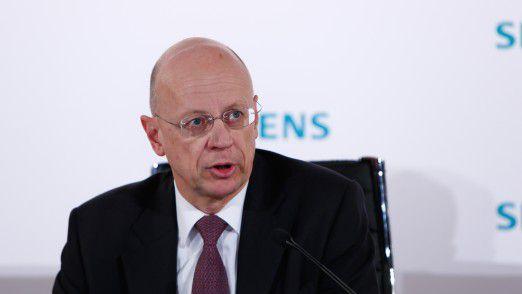 Ralf Thomas, Mitglied des Vorstands und Chief Financial Officer der Siemens AG