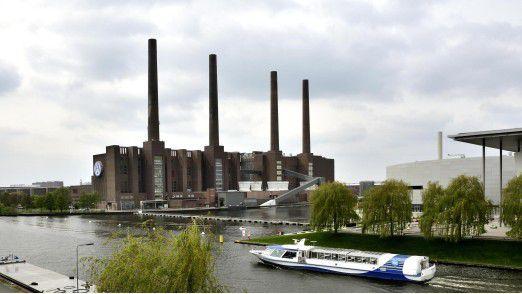 Volkswagen-Werk im niedersächsischen Wolfsburg