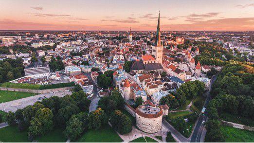 Estland ist Spitzenreiter bei Public-Digitialisierung.
