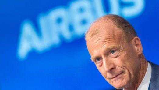 Airbus CEO Tom Enders warnte Airbus-Mitarbeiter vor turbulenten Zeiten.