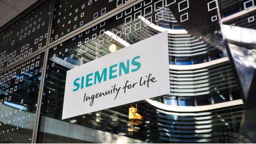 """Der Konzernbereich """"Digitale Fabrik"""" liefert Siemens viel Freude."""