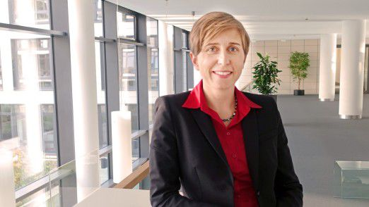 Antje König, 37, stieg von der Auszubildenden zum erfolgreichen CIO auf.