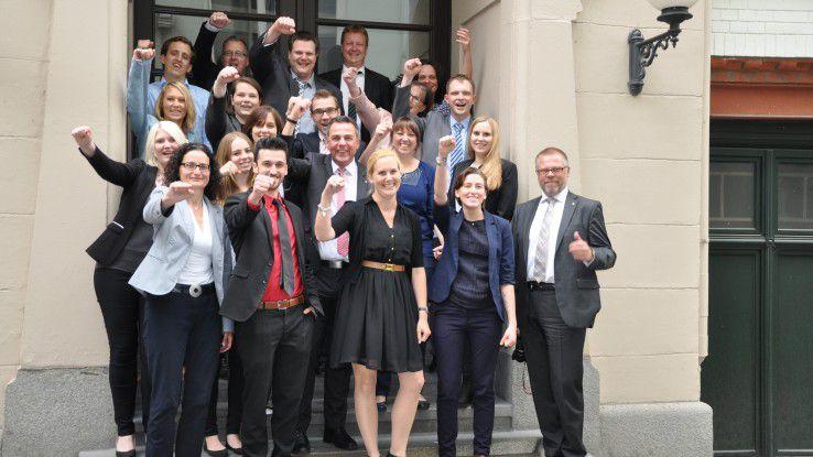 Hoffmann und sein Digital Project Team: Der CIO verbreitet ansteckende Begeisterung.