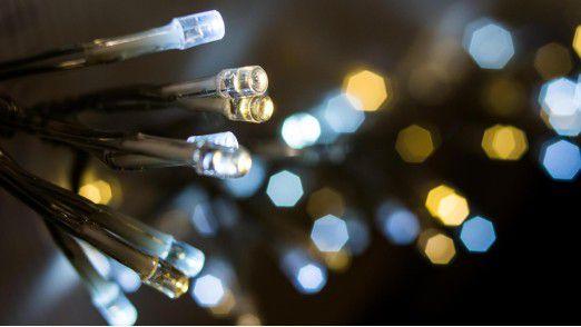 LED Lichter: preiswert und effizient in der Lichtausbeute.
