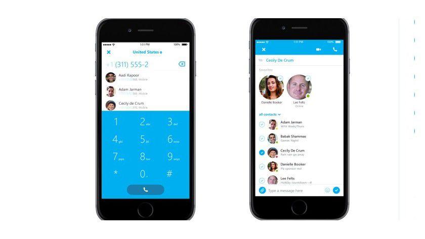 Skype 5.9 für iOS steht zum Download bereit.