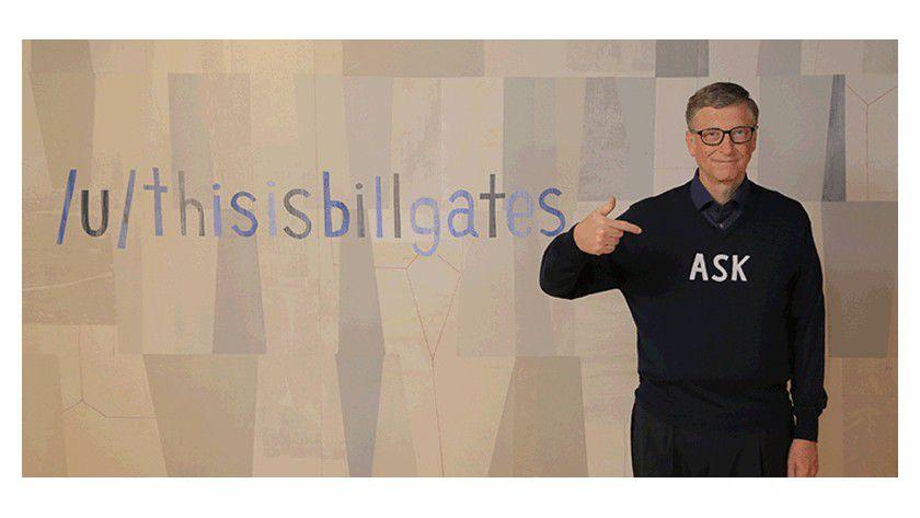 Bill Gates verrät, woran er bei Microsoft arbeitet.