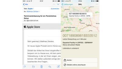 Ausgepackt: Die Apple Watch