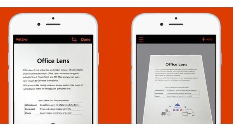 Microsoft Office Lens nun auch für iOS und Android erhältlich (c) IDG/IDG