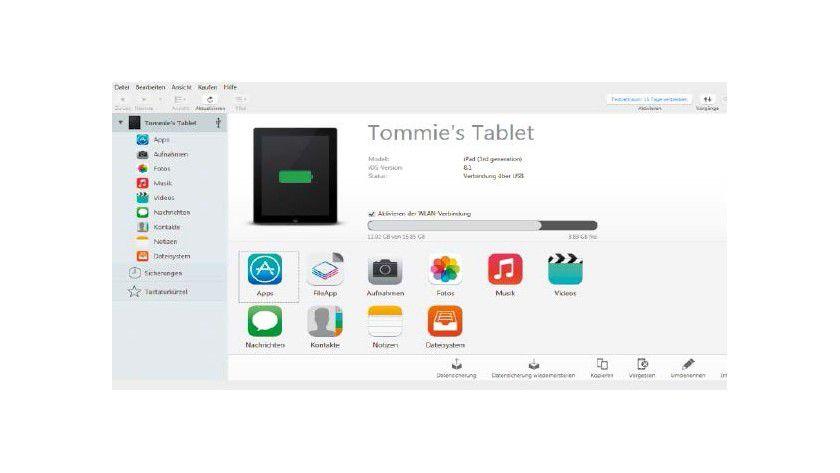 UnDas Tool Imazing macht versteckte Dateien auf dem iPad sichtbar. So können Sie Platzfresser entdecken und löschen, um den internen Speicher freizuräumen.