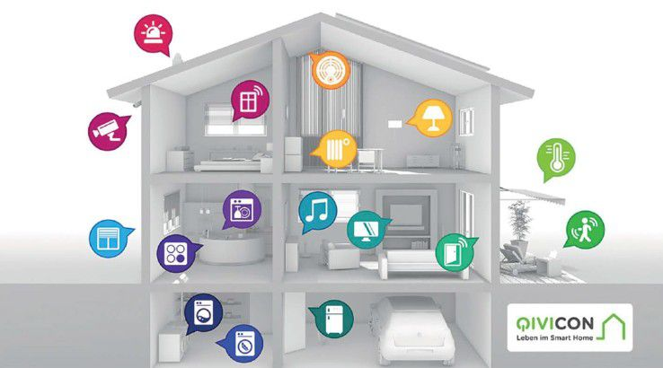 Die von der Telekom initiierte Allianz Qvicon hat zum Ziel, das Zuhause von der Beleuchtung bis zu Waschmaschine zu vernetzen.