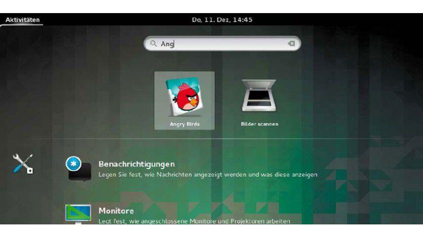 Chrome-Apps in der Übersichtsseite von Gnome 3: Die als Verknüpfung erstellten Apps finden Sie in Gnome 3 und in Unity jetzt neben der normalen Software anhand ihres Namens.