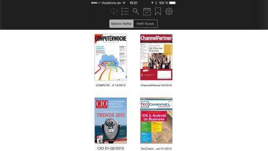 Wenn Sie bereits Abonnent von CIO-Magazin, ChannelPartner, Computerwoche oder TecChannel sind, müssen Sie nur Ihre Abo-Nummer und Ihren Nachnamen in der App hinterlegen.