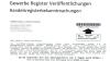 """Vorsicht bei Eintrag in """"Europäisches Gewerbe Register"""""""