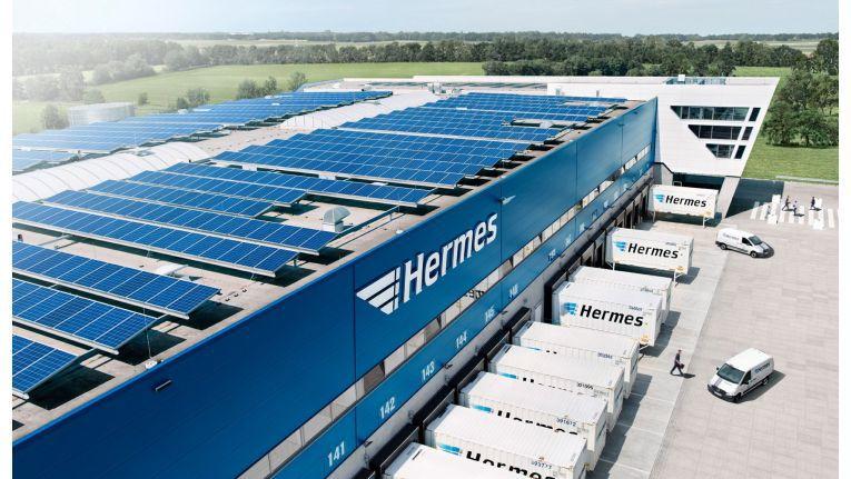 Der Nord-Hub von Hermes Logistik Deutschland in Hannover-Langenhagen