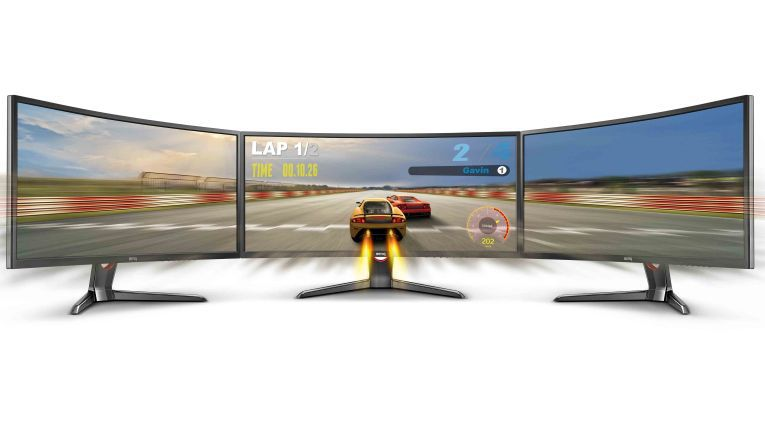 BenQ XR3501: Für Gamer und vor allem für Sim-Race-Fans.