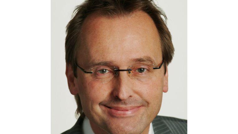 Richard Einstmann, Geschäftsführer des Bechtle IT-Systemhauses in Karlsruhe