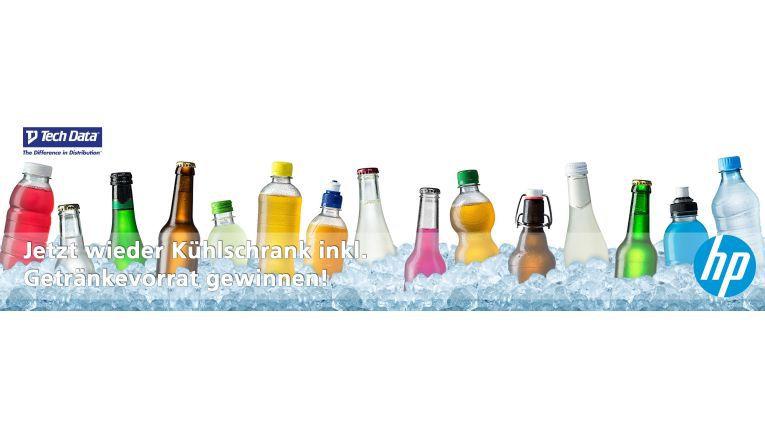 Seit 01. Juli 2015 bis zum 30. September 2015 läuft die Kampagne um einen von 15 prall gefüllten Liebherr Getränkekühlschränken. Dazu müssen allerdings Umsätze mit HP Enterprise Group-Produkten gemacht werden.