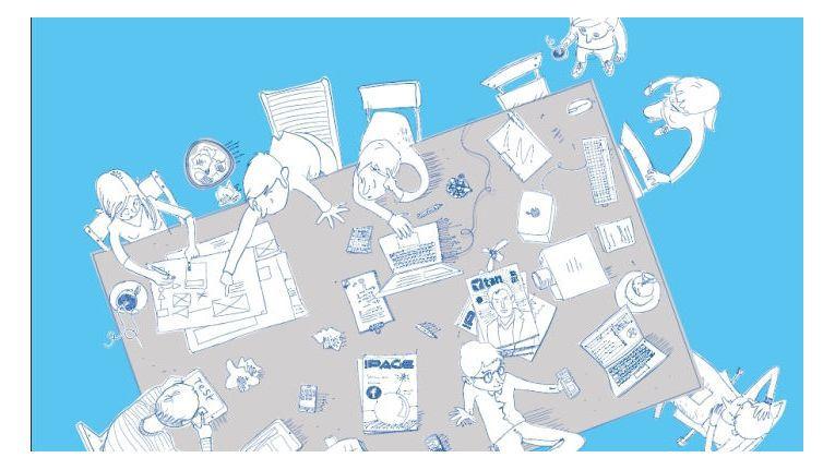 """Die vier zentralen Faktoren, die über den Erfolg im digitalen Transformationsprozess entscheiden, werden in dem DMK Innovations-Whitepaper """"Digitale Transformation. Wie Sie mit integrierten digitalen Transformationsaktivitäten die Digitalisierung erfolgreich meistern und zum Digital-Leader werden"""" beschrieben."""