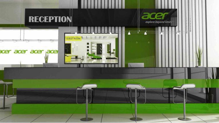 Acer LFDs der DV-Serie: Für öffentliche Orte mit höheren Temperaturschwankungen geeignet.