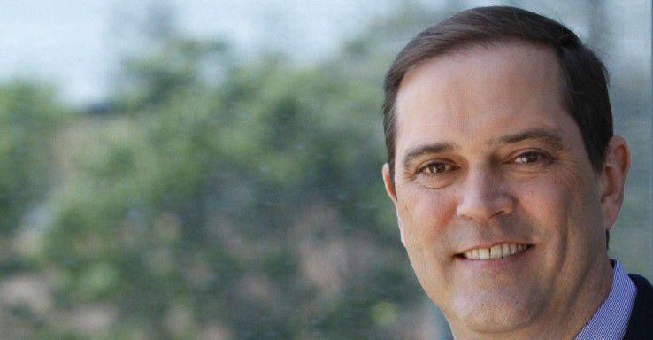 Ist CEO von Cisco und wird auch neuer Chairman: Chuck Robbins.