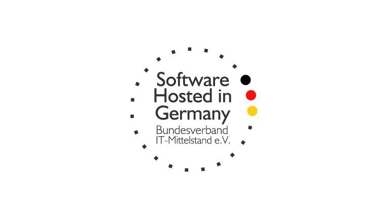 """Software Hosted in Germany""-Zertifizierung"