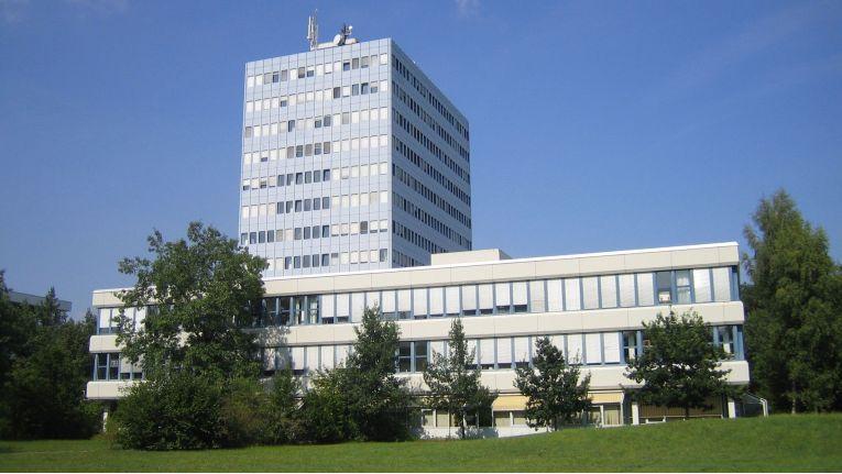 Das Rechenzentrum der Uni Erlangen-Nürnberg auf dem Südgelaende des Campus.