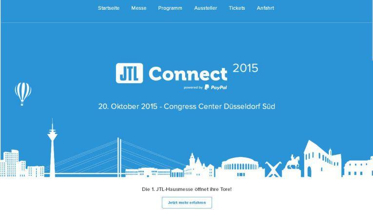 Tickets für die JTL-Connect 2015 zum Preis von 99 Euro können auf der Website jtl-connect.de erworben werden.