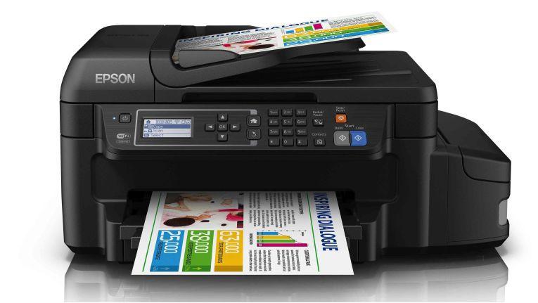 Epson ET-4550: Druckreichwiete von bis zu 11.000 Seiten.