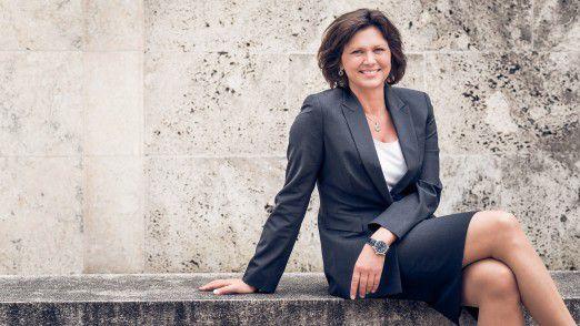 Ilse Aigner, bayerische 'Superministerin' für Wirtschaft und Medien, Energie und Technologie