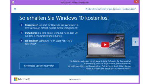 So erhalten Sie Windows 10 kostenlos!