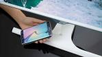 Samsung SE370: Smartphone-Akku drahtlos am PC-Monitor aufladen - Foto: Samsung