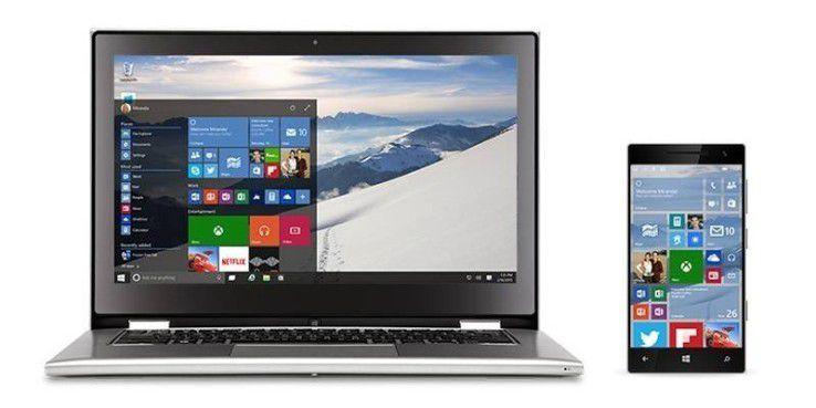 Das Windows-10-Update soll Anwendungen auf dem PC und dem Smartphone verknüpfen.