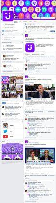 Facebook Timeline von jet.com.
