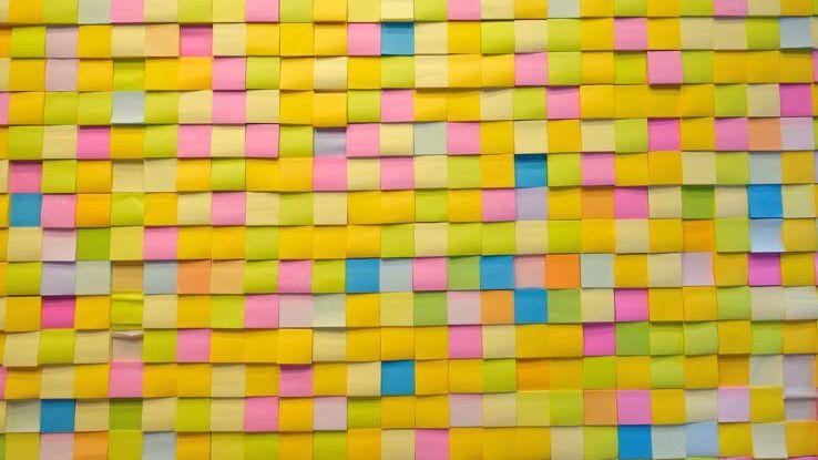 Wir zeigen Ihnen, wie kreativ man mit Post-It-Klebezetteln arbeiten kann. Ein Klick auf den Button führt direkt zum Post-It-Büro-Kunstwerk.