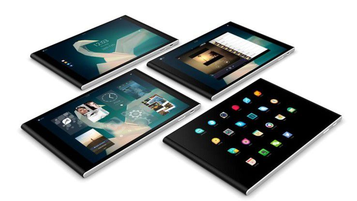 Ab Ende Oktober soll das Jolla-Tablet mit Betriebssystem Sailfish erhältlich sein.