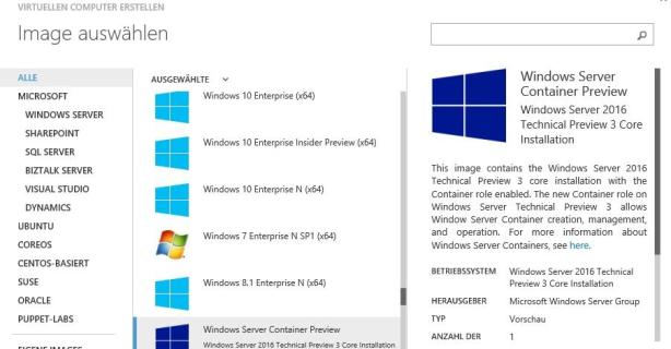 Windows Server 2016 Technical Preview 3: Windows Server Container nutzen - Foto: Joos
