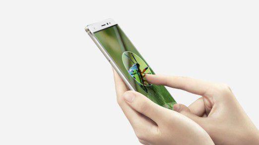 Auf der IFA präsentierte Huawei das Mate S mit Force Touch