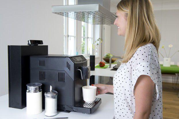 Bitte Lächeln - sonst gibt es im Smart Home keinen Kaffee.