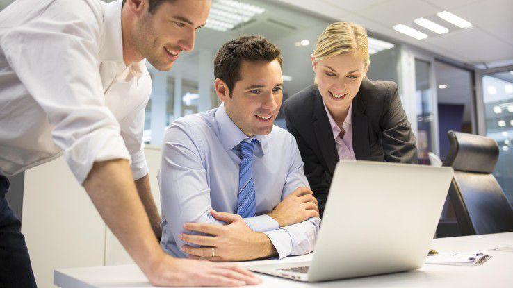 Mit internetbasierenden Tools können Projektteilnehmer auch lange nach Abschluss eines Projektes noch ihr Feedback zu Zusammenarbeit, Projektverlauf etc. abgeben.