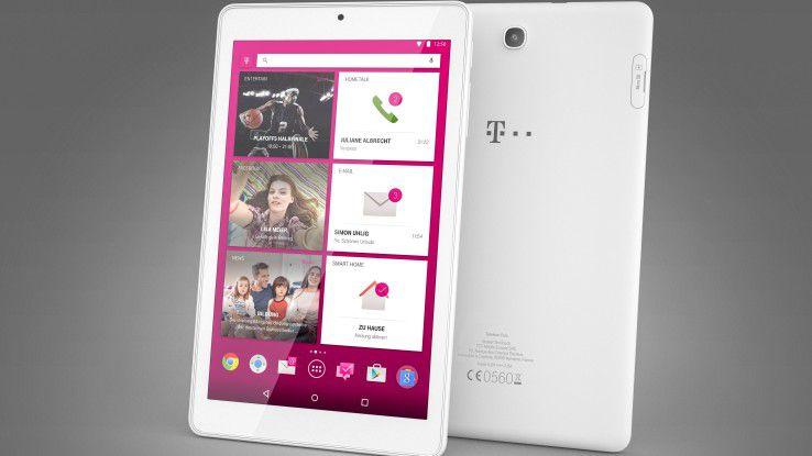 Das Tablet Plus der Telekom soll als Steuerzentrale für die diversen Telekom-Dienste dienen.