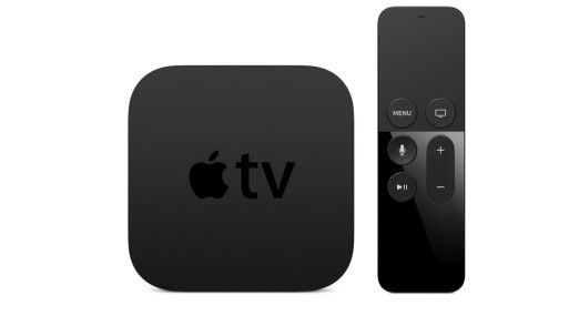 Apple TV mit Touch-Controller
