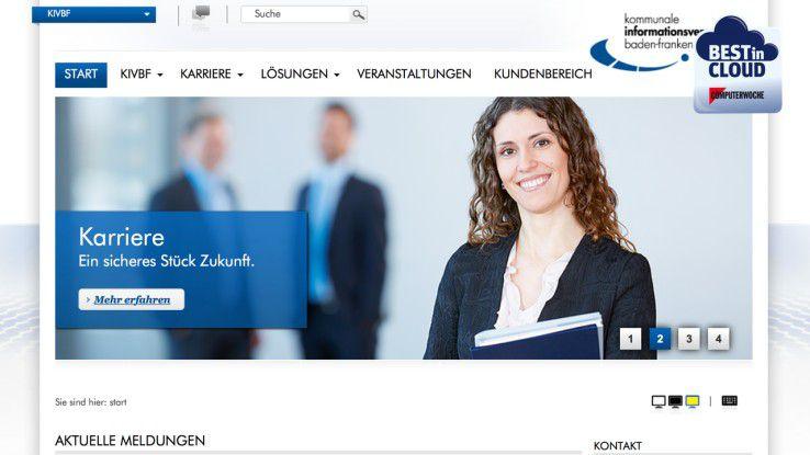 Für die Kommunale Informationsverarbeitung Baden-Franken hat fluidOps eine leistungsfähige Bildungscloud gebaut.
